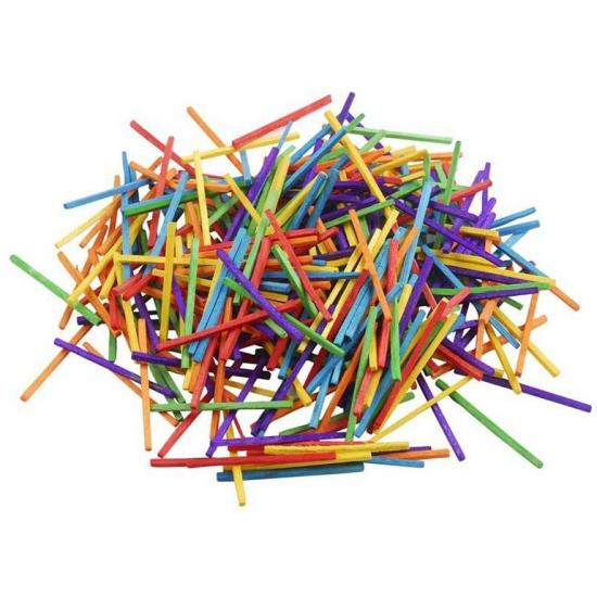Image of Gekleurde bouwstokjes 500 gram