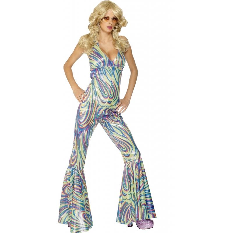 Image of Gekleurde catsuit voor dames