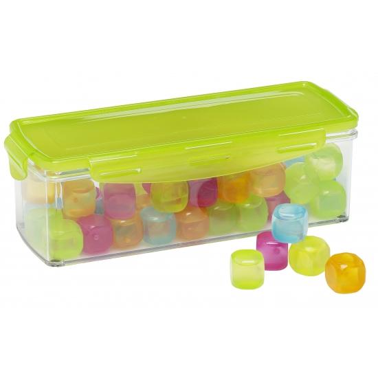 Image of Gekleurde ijsblokjes in box