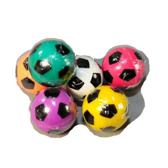 Gekleurde voetbal stuiterballetje