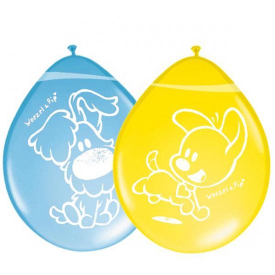 Image of Gekleurde Woezel en Pip ballonnen