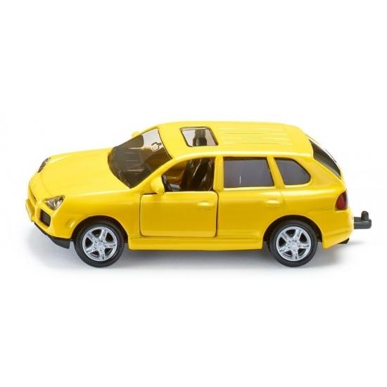 Image of Gele Porsche Cayenne modelauto
