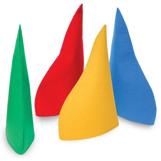 Image of Gele puntmuts