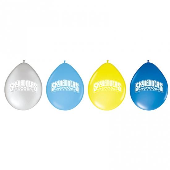 Image of Gele skylanders ballonnen 8 stuks