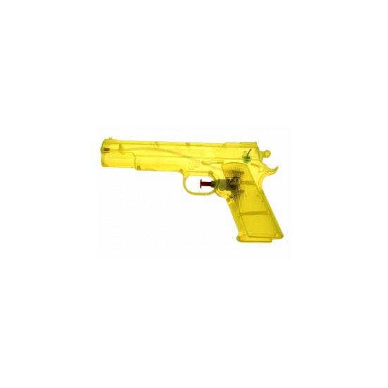 Image of Gele waterpistolen 20 cm