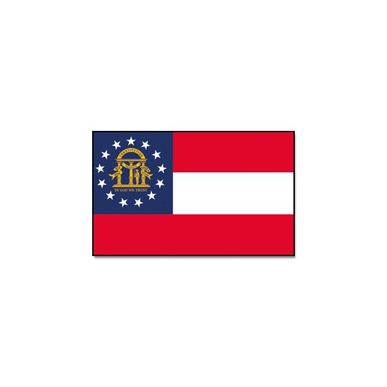 Georgische landen vlaggen