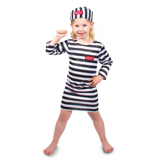 Image of Gevangene kostuum voor meisjes