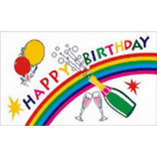 Image of Gevelvlag Happy Birthday
