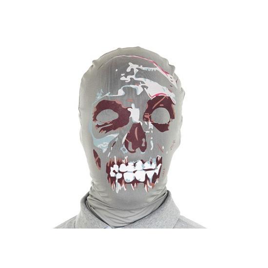 Image of Gezichtsmasker tweede huid zombie