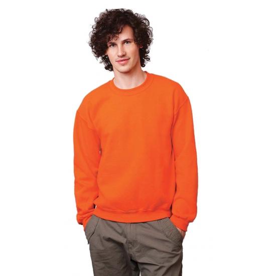 Image of Gildan trui oranje voor volwassenen