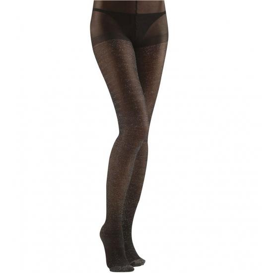 Image of Glans panty zwart voor dames