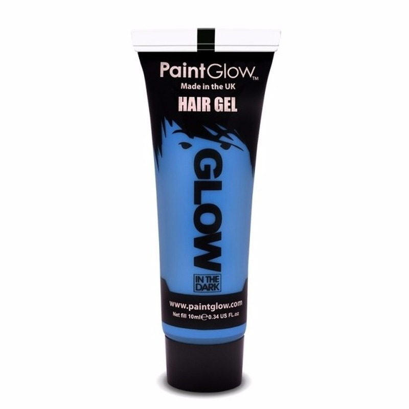 Image of Glow in the dark haargel blauw
