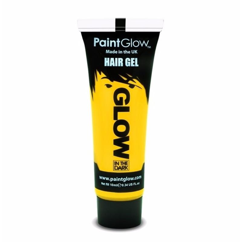 Image of Glow in the dark haargel geel