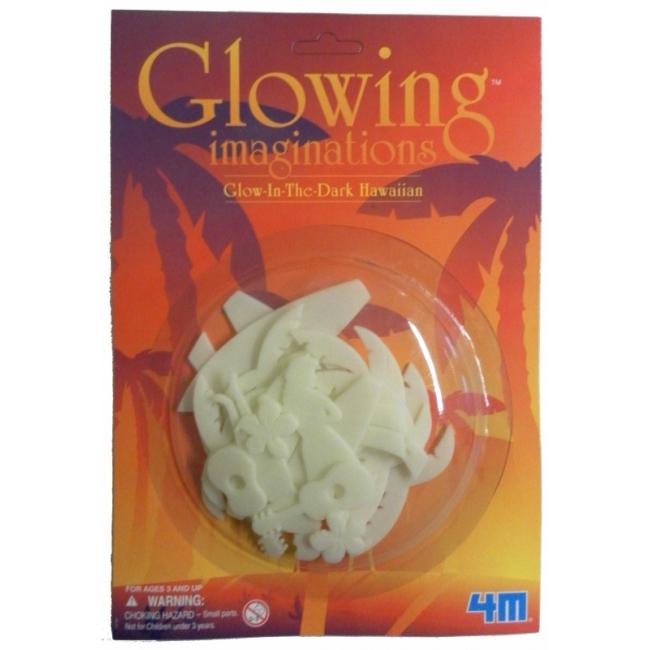 Image of Glow in the dark Hawaii figuren 12 stuks