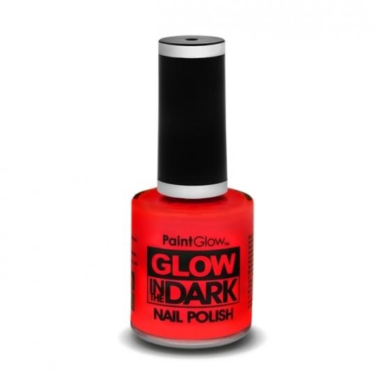 Image of Glow in the dark nagellak neon rood