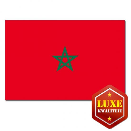 Goede kwaliteit Marokkaanse vlag