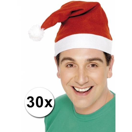 Goedkope kerstmutsen 30x