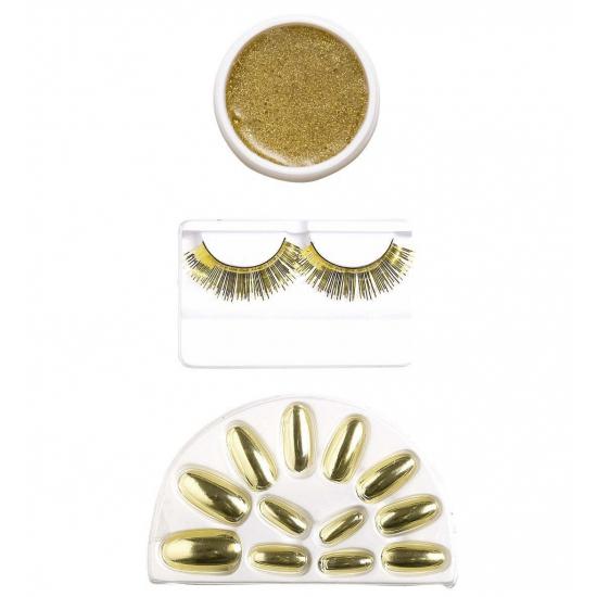 Image of Gouden make-up setje