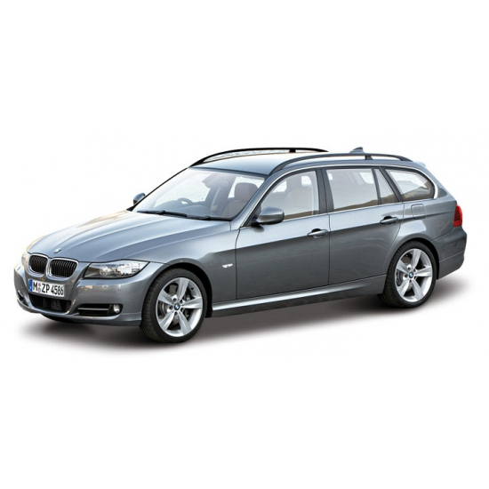 Image of Grijze BMW 3 serie stationwagon modelauto