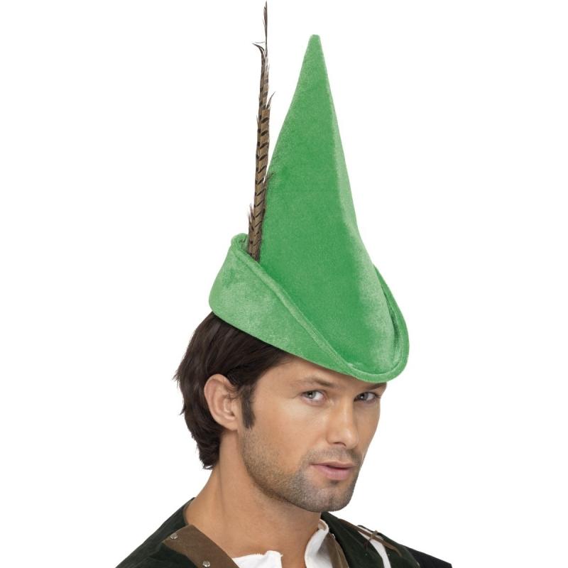 Image of Groen boswachter hoedje