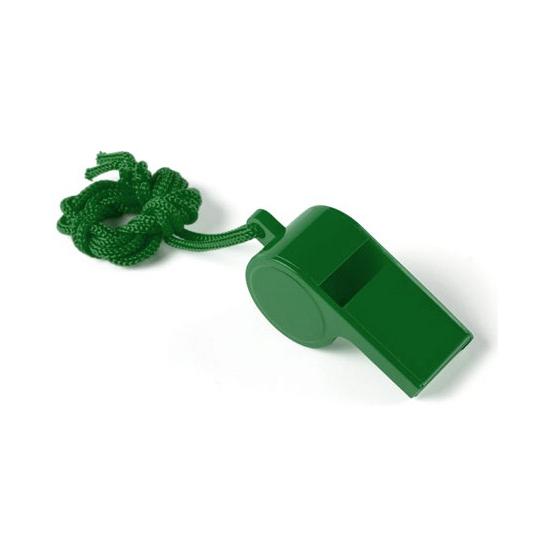 Image of Groen fluitje aan koord