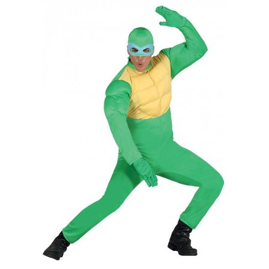 Image of Groen ninja kostuum voor mannen