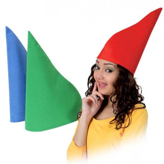Image of Groene puntmuts
