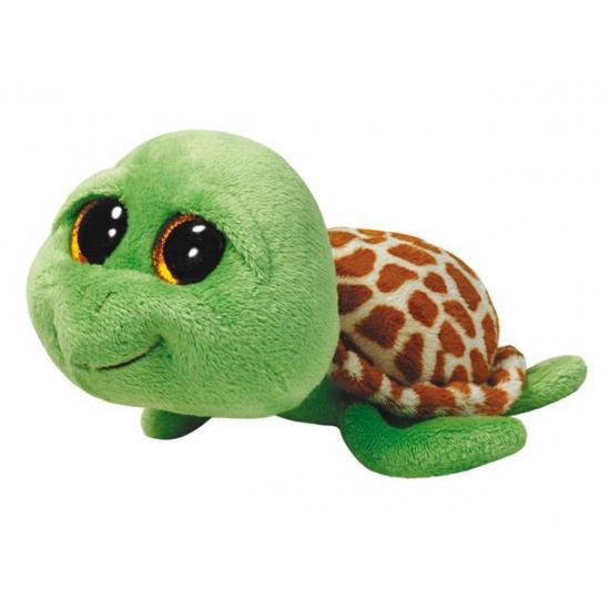 Image of Groene Ty Beanie kado knuffel schildpad 24 cm