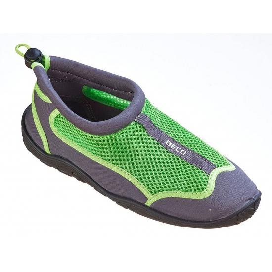 Image of Groene waterschoenen/ surfschoenen heren