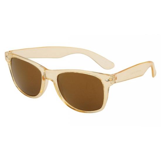 Image of Groene zonnebril met goudkleurige glazen