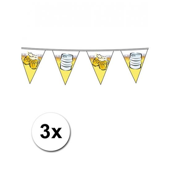 Image of Grootverpakking bier vlaggenlijnen 10 m per stuk