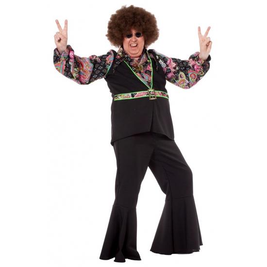 Image of Grote maat hippie blouse voor heren