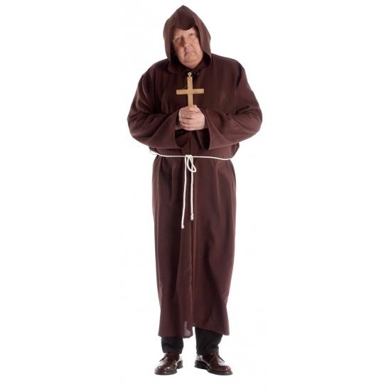 Image of Grote maat monnik kostuum voor volwassenen