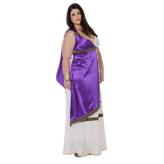 Image of Grote maat Romeins kostuum voor vrouwen