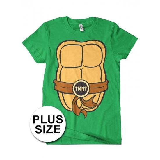Image of Grote maatKatoenen Ninja Turtles verkleedoutfit voor volwassenen