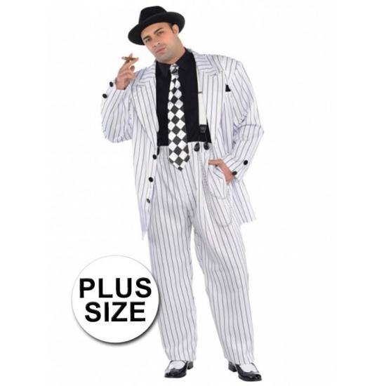 Image of Grote maten gangster kostuum voor heren