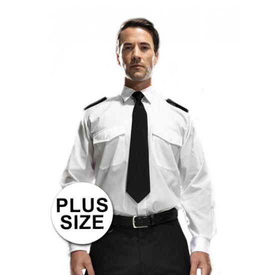 Image of Grote maten piloten verkleedkleding