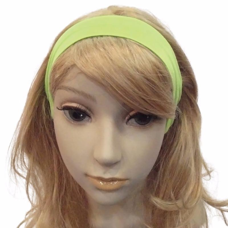 Image of Haarbanden in de kleur groen