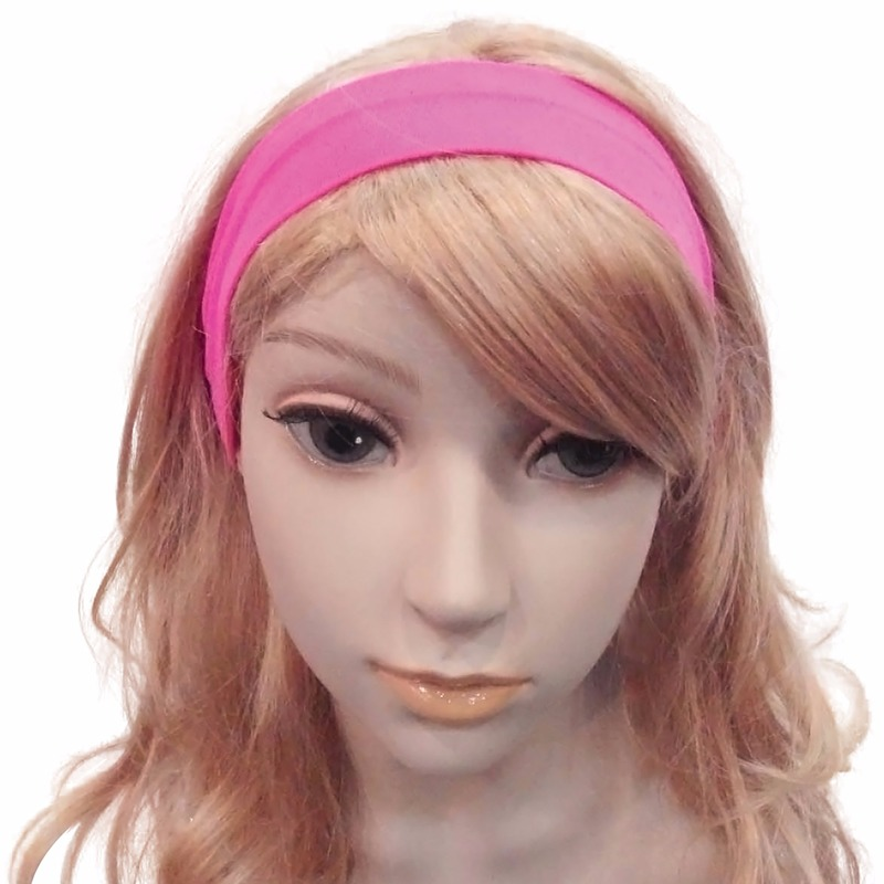Image of Haarbanden in de kleur roze
