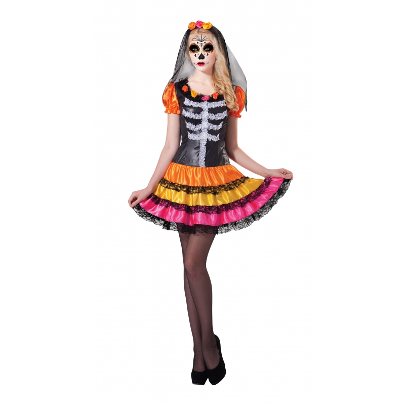 Image of Halloween jurkje Day of the Dead Rosita
