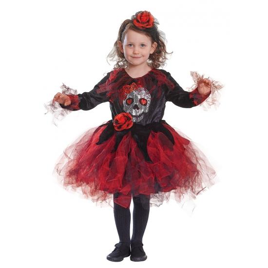 Image of Halloween jurkje met doodshoofd