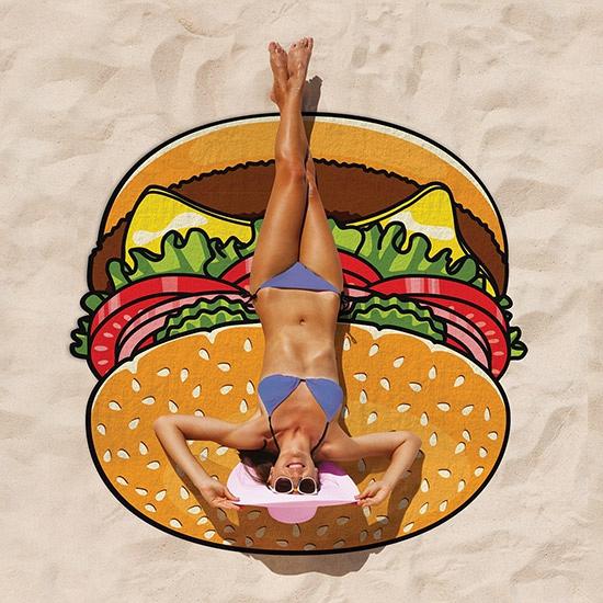 Image of Hamburger vorm kleed 150 cm