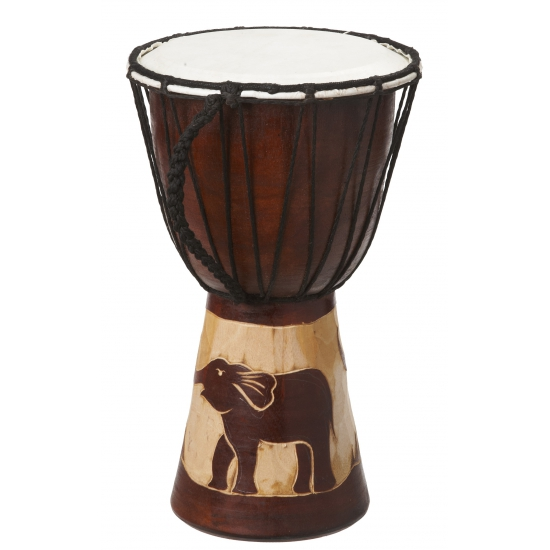 Handgemaakte drum Olifant 30 cm