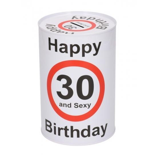 Image of Happy birthday 30 jaar spaarpot