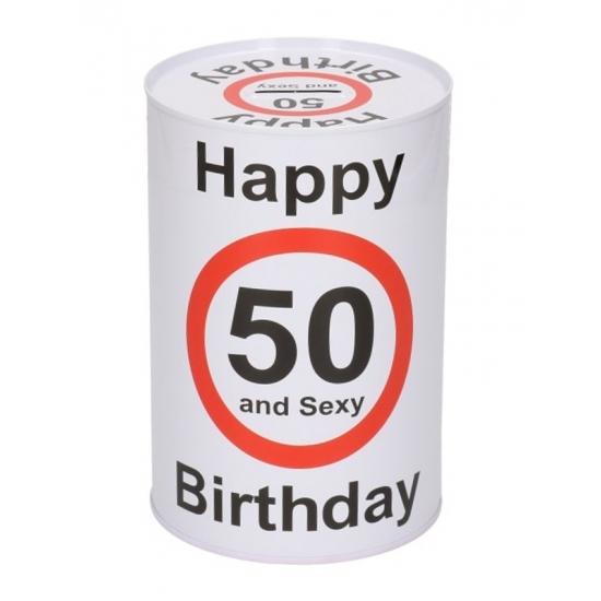 Image of Happy birthday 50 jaar spaarpot