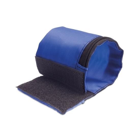 Image of Hardloop opberg armband blauw