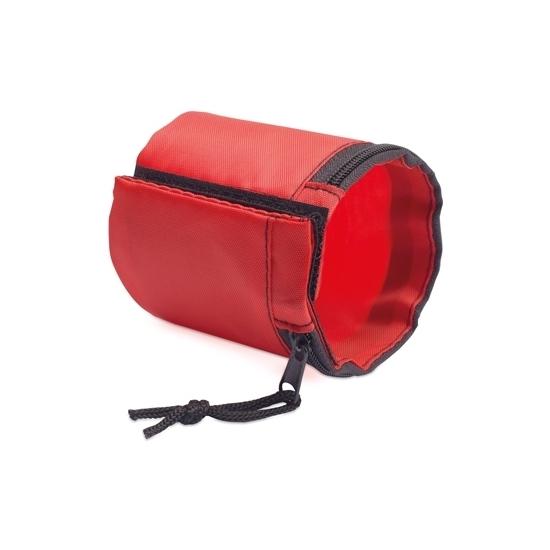 Image of Hardloop opberg armband rood