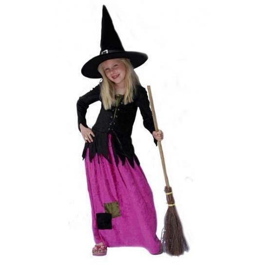 Image of Heksen kostuum voor meisjes