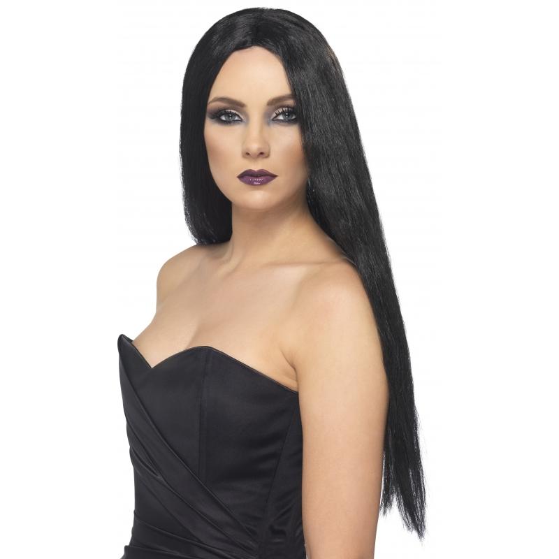 Image of Heksenpruik zwart dames