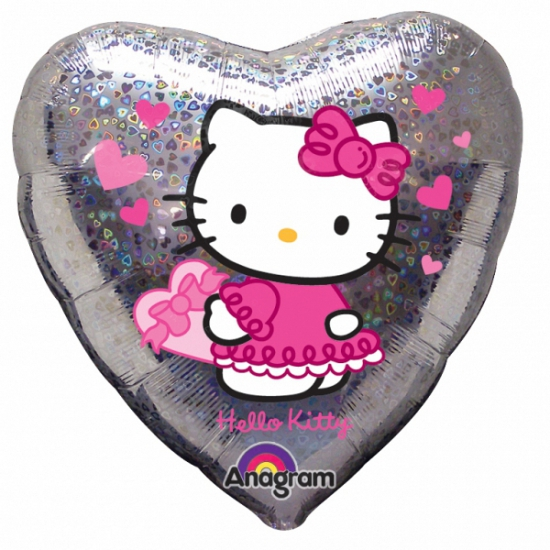 Image of Hello Kitty folie helium ballon 45 cm